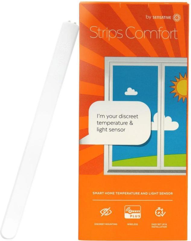 Sensative STRIPS Comfort Temperatur-& Lichtsensor- Z-Wave Plus Weiß BRANDNEU