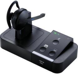 JABRA PRO™ 9450 monaural NEU OVP Noisecanceling Kunstleder 150m Reichweite DSP