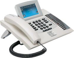 COMfortel 2600 IP weiß VoIP-Telefon für Standard-SIP- und IP-Systemtelefonie NEU