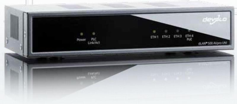 devolo dLAN 500AVpro UNI (500 Mbit/s) 300 m Schwarz Universaladapter NEU OVP