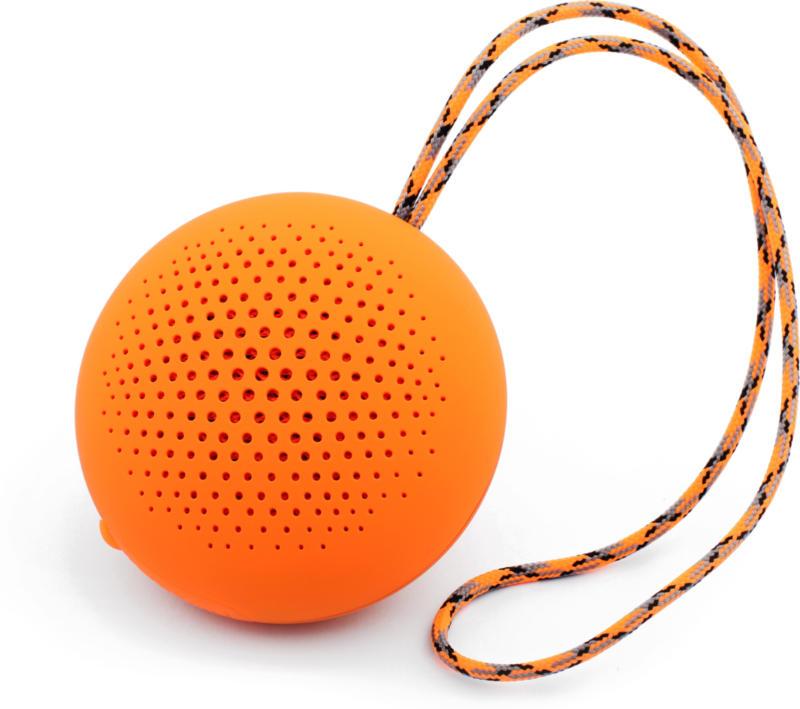 Boompods Rokpod Bluetooth Outdoor Lautsprecher 32mm Orange IPX7 BRANDNEU