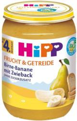 Birne-Banane mit Zwieback