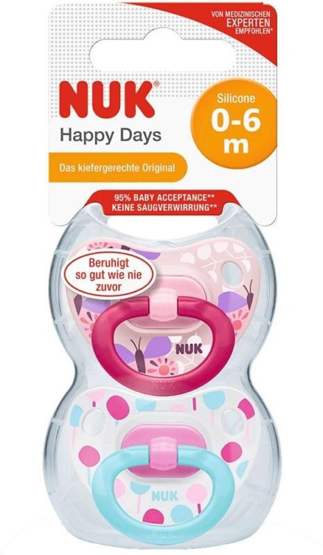 Schnuller Happy Days 0-6m
