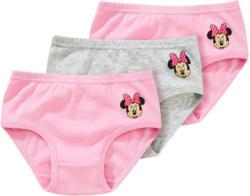 3 Minnie Maus Slips mit Print