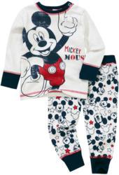 Micky Maus Schlafanzug mit Schulterknöpfung