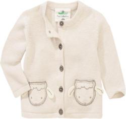 Newborn Strickjacke mit Schaf-Applikation