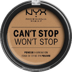 NYX PROFESSIONAL MAKEUP Foundation Can't Stop Won't Stop Full Coverage Powder Foundation Neutral Buff 10.3
