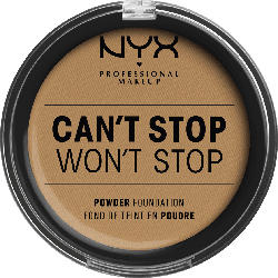 NYX PROFESSIONAL MAKEUP Foundation Can't Stop Won't Stop Full Coverage Powder Foundation Golden 13