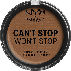 NYX PROFESSIONAL MAKEUP Foundation Can't Stop Won't Stop Full Coverage Powder Foundation Cappuchino 17