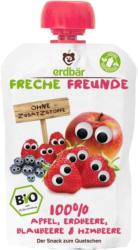 Quetschbeutel Apfel, Erdbeere, Blaubeere & Himbeere