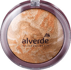 alverde NATURKOSMETIK Gesichtspuder Clear Beauty Mattifying Powder