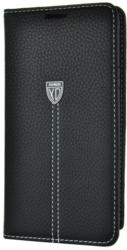XUNDD Book Tasche Fashion für Samsung S6 Edge Plus, Schwarz