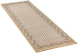 Teppich orientgemustert ca. 80 x 250 cm beige