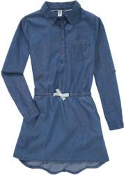 Mädchen Jeanskleid mit Knopfleiste