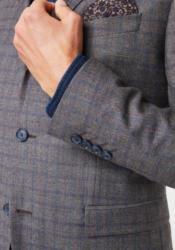PIERRE CARDIN Anzug mit Karomuster - Slim Fit »Bernar Ryan«