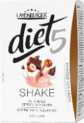 Layenberger diet5 Shake Schoko-Nuss (5x47g)