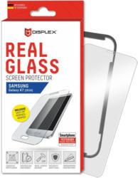 Displex Displayschutzfolie »Real Glass für Samsung Galaxy A7 (2018) m. Frame«