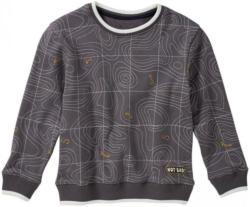 Jungen-Sweatshirt mit verschlungenem Muster