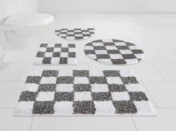 Badematte »Rhona«, my home Selection, Höhe 20 mm, rutschhemmend beschichtet, fußbodenheizungsgeeignet