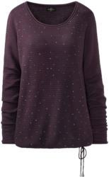 Damen Pullover mit kleinen Schmucksteinchen