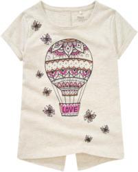 Mädchen T-Shirt mit Heißluftballon-Print