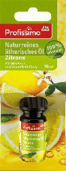 Profissimo Duftöl Naturreines ätherisches Öl Zitrone
