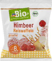 dmBio Waffeln, Snack Himbeer Reiswaffeln ab dem 8. Monat