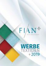 Fian - Werbetextilien 2019