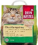 dm-drogerie markt Dein Bestes Katzenstreu, Öko-Streu klumpend