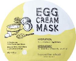 too cool for school Tuchmaske EGG Cream Mask Hydration