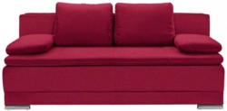 Schlafsofa In Textil Rot
