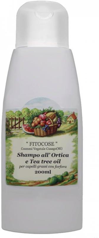 Fitocose Tea Tree Oil & Nettle Shampoo
