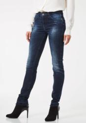 PIERRE CARDIN Jeans mit Fransensaum - Skinny Fit »My Favourite«