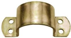 Rohrschellen gelb verzinkt 26 mm