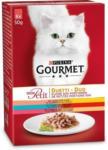 BayWa Bau- & Gartenmärkte Gourmet Mon Petit Duetti Fleisch & Fisch 6 x 50g