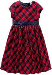 Festliches Mädchen Kleid im Karo-Design