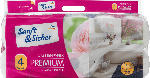 dm-drogerie markt Sanft&Sicher Toilettenpapier Premium 4-lagig (10x160 Blatt)