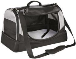 Trixie Dog Tasche Holly schwarz/grau 50x30x30cm