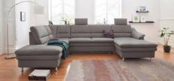 Sit & More Wohnlandschaft mit Federkern, wahlweise mit Bettfunktion und Relaxfunktion