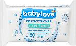 dm-drogerie markt babylove Feuchttücher 99% Wasser