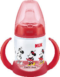 Nuk Trinklernflasche First Choice Disney Mickey, 150ml, ab 6 Monate, rot