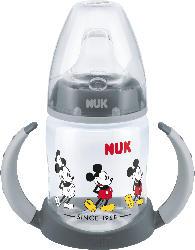 Nuk Trinklernflasche First Choice Disney Mickey, 150ml, ab 6 Monate, grau