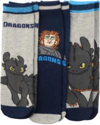 3 Paar DRAGONS Socken im Set