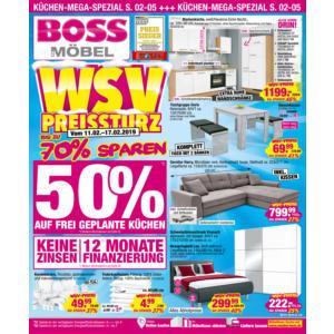 SB-Möbel BOSS Prospekt ⇒ Aktuelle Angebote Februar 2019 - mydealz.de