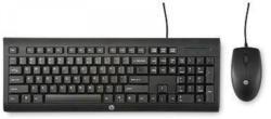HP Maus und Tastatur »kabelgebundenes C2500 Tastatur-Set«