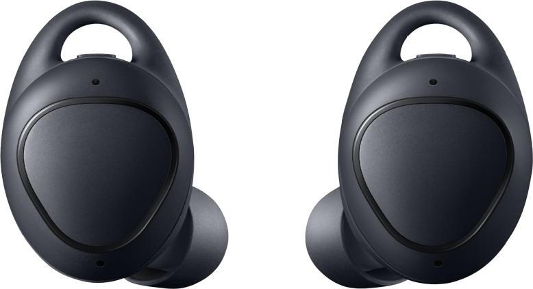 Bluetooth-Kopfhörer - SAMSUNG Gear IconX (2018), In-ear True Wireless Smart Earphones Bluetooth Schwarz