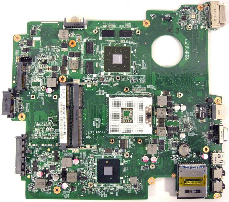 Acer TravelMate Intel Mainboard DA0ZR9MB8D0   Gebrauchte B-Ware