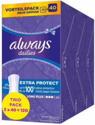 Slipeinlage Extra Protect Long Plus Trio Pack