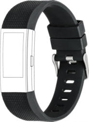 topp Ersatz-/Wechselarmband »Silikon für Fitbit Charge 2«