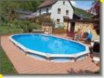 Pool Partner Zentrale Stahlwandbecken Mauritius als Rund- oder Ovalbecken - bis 31.08.2015